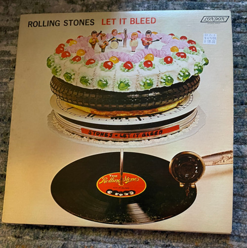 The Rolling Stones - Let It Bleed -  1st Canadian