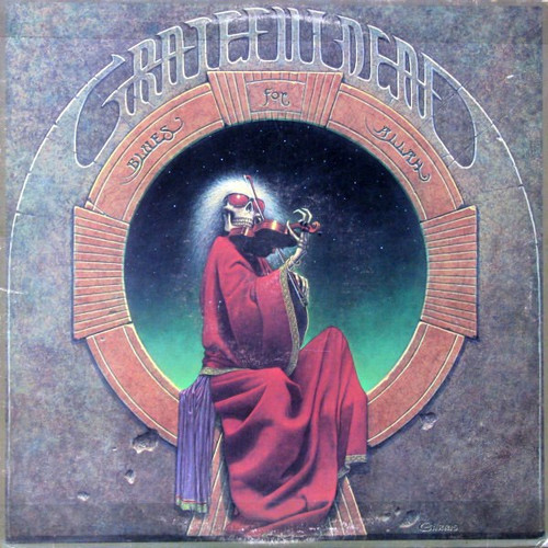 The Grateful Dead - Blues For Allah ( 1st Canadian pressing with insert)