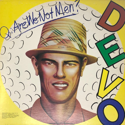 DEVO - Q: Are We Not Men? (Original Marble Vinyl)