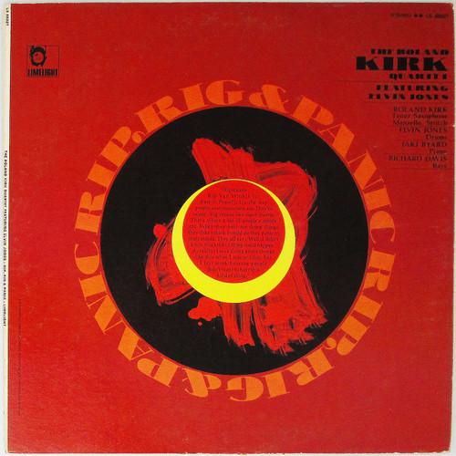 The Roland Kirk Quartet Featuring Elvin Jones – Rip, Rig & Panic