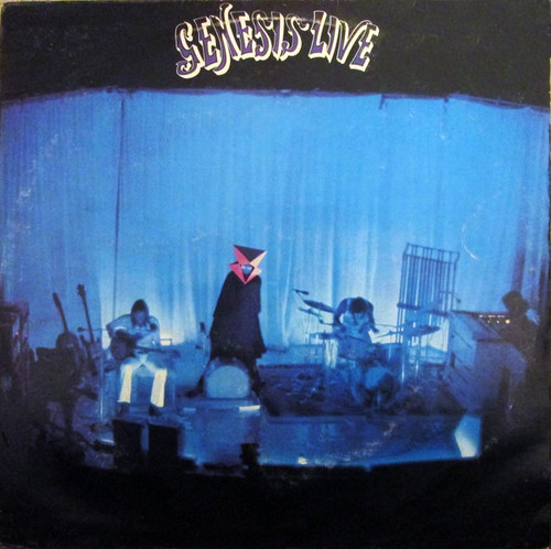 Genesis - Live (2nd UK press)