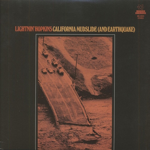 Lightnin' Hopkins - California Mudslide (And Earthquake) Limited Edition only 1000