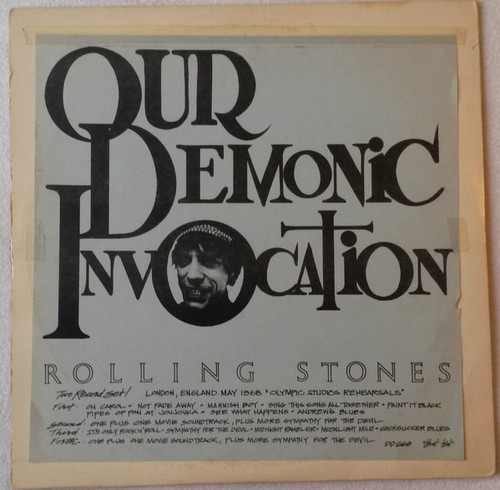 The Rolling Stones - Our Demonic Invocation (Rare red vinyl boot)