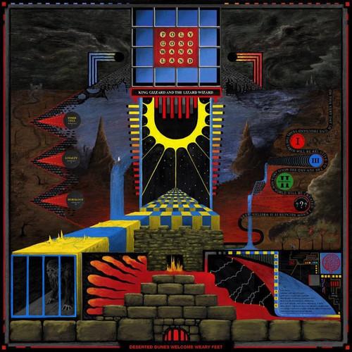 King Gizzard And The Lizard Wizard - Polygondwanaland (splatter red/blue vinyl)