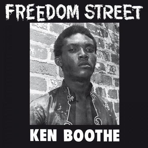 Ken Boothe - Freedom Street ( Limited Edition on Orange Vinyl - numbered)