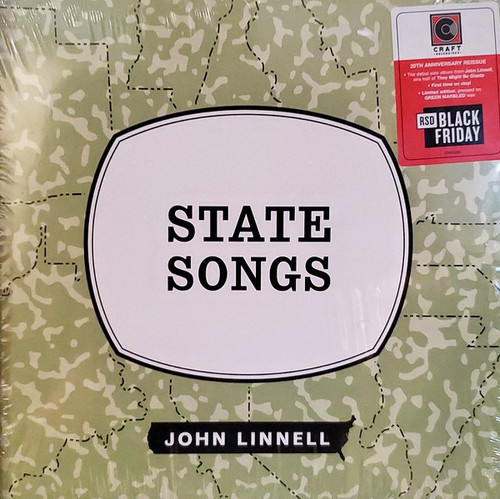 John Linnell - State Songs (Limited Edition on Green Vinyl)