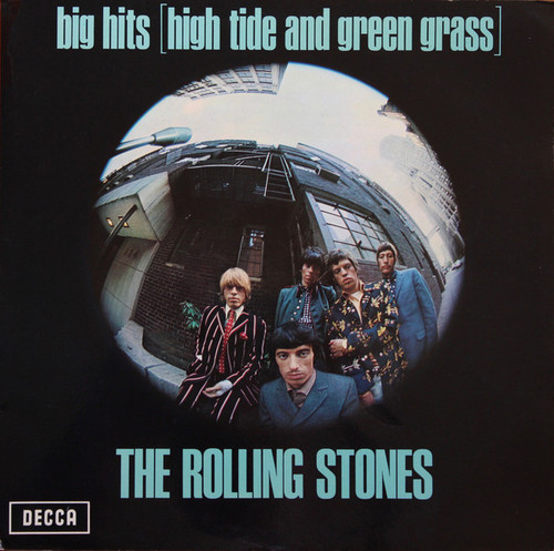 The Rolling Stones - Big Hits (High Tide and Green Grass) (1st German press)