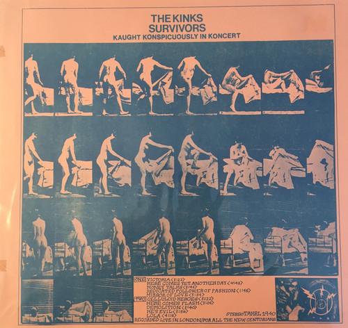 Kinks - Survivors - Kaught Konspicuously In Koncert (bootleg)