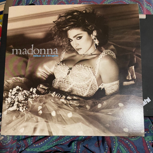 Madonna - Like a Virgin (Rare White Vinyl Promo)