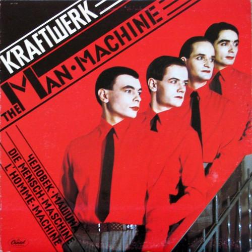 Kraftwerk - The Man · Machine ( 1978 1st pressing)