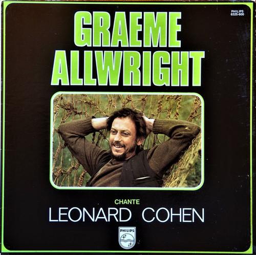 Graeme Allwright - Chante Leonard Cohen