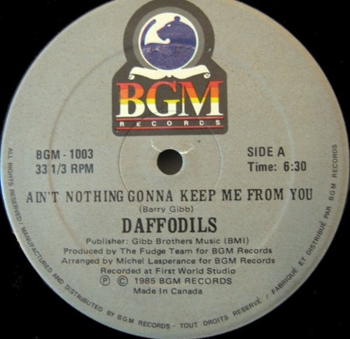 Daffodils - Ain't Nothing Gonna Keep Me From You / El Toro Loco