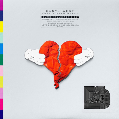 Kanye West - 808's and Heartbreak (2LP Deluxe Edition + CD, Poster and Lyrics)