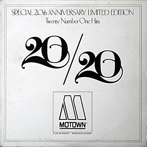 Various - 20/20 Twenty No.1 Hits From Twenty Years At Motown