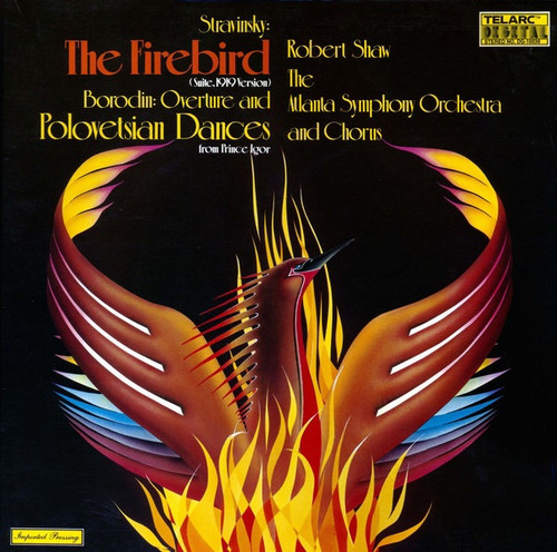 Igor Stravinsky - The Firebird (Suite, 1919 Version) / Overture And Polovetsian Dances From Prince Igor
