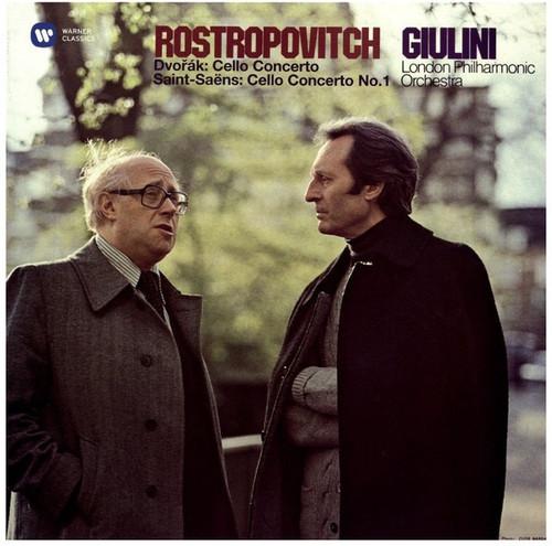 Mstislav Rostropovich - Cello Concerto / Cello Concerto No.1