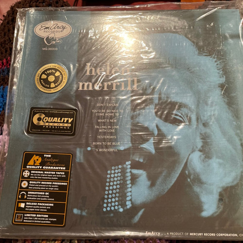 Helen Merrill  - S/T (Analogue Productions 200g)
