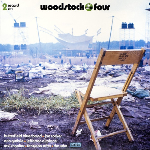 Various - Woodstock Four ( Limited Edition on coloured vinyl)