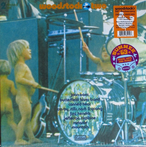 Various - Woodstock Two (Limited Edition on coloured vinyl)