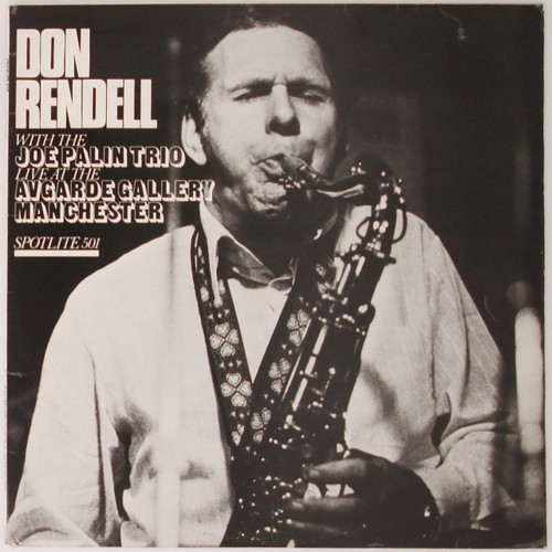 Don Rendell - Live At The Avgarde Gallery Manchester