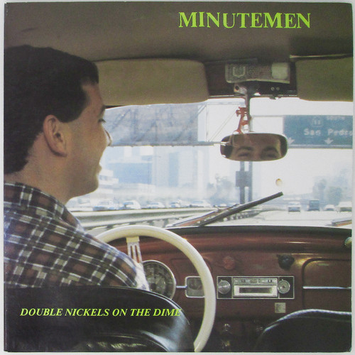 Minutemen ‎– Double Nickels On The Dime (repress, double LP)