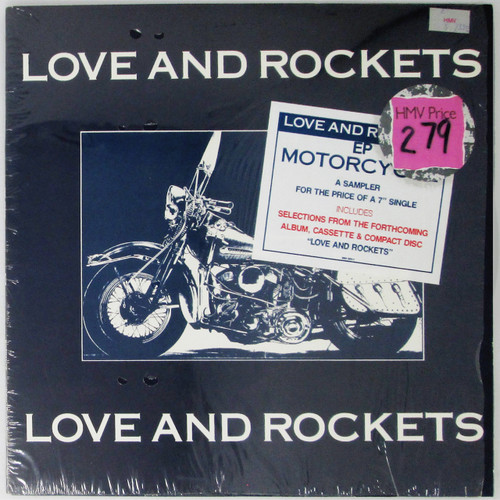 Love And Rockets – Motorcycle (EP)