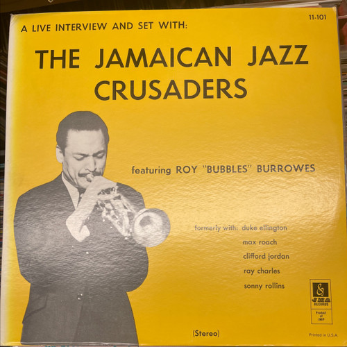 The Jamaican Jazz Crusaders - A Live Interview And Set With The Jamaican Jazz Crusaders