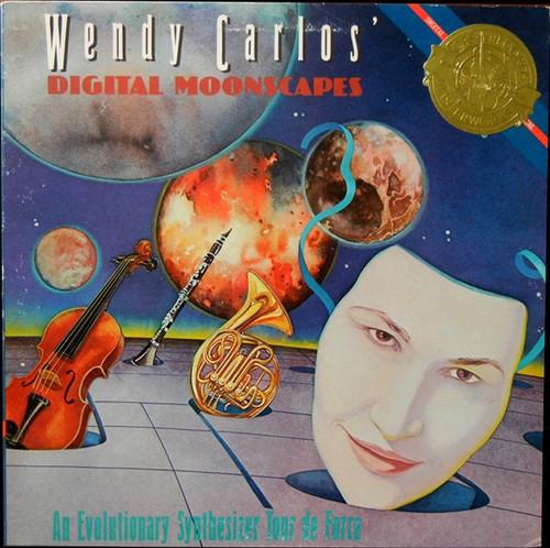 Wendy Carlos - Digital Moonscapes / vinyl is NM