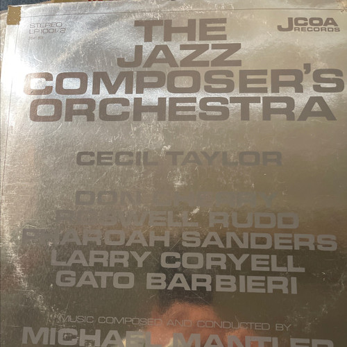 The Jazz Composer's Orchestra - The Jazz Composer's Orchestra (Import)