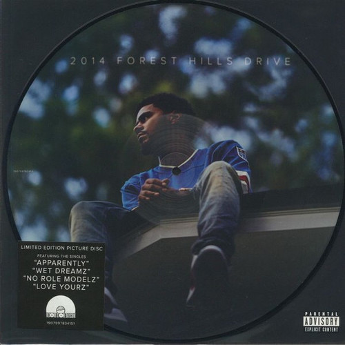 J. Cole - 2014 Forest Hills Drive (RSD 2019 Picture Disc)