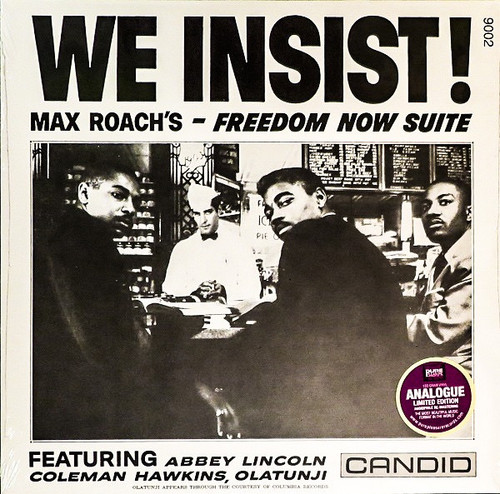 Max Roach - We Insist! Max Roach's Freedom Now Suite (2006 Pure Pleasure 180g)