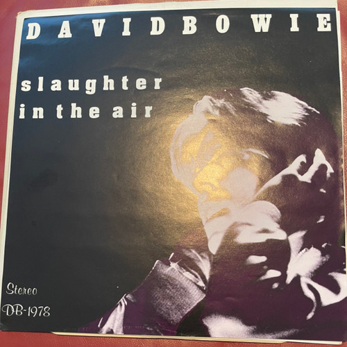 DAVID BOWIE Slaughter In The Air LIVE 1978  2 LP Eno Fripp