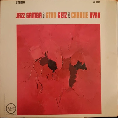 Stan Getz - Jazz Samba ( 1st Canadian pressing in VG+ condition)