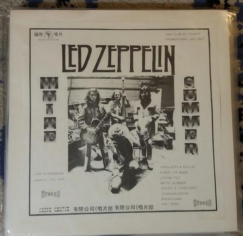 Led Zeppelin - Fan Club Of Taiwan - White Summer