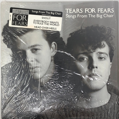 Tears for Fears - Songs from the Big Chair (Open shrink with Hype Sticker)