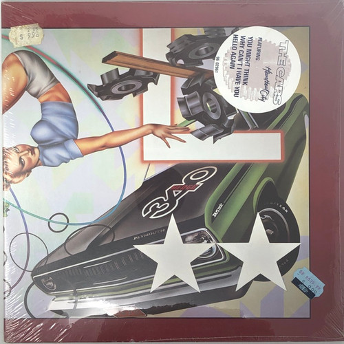 The Cars - Heartbeat City (Sealed Original with Hype Sticker)