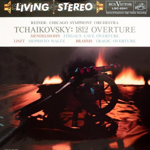 Pyotr Ilyich Tchaikovsky - 1812 Overture / Fingal's Cave Overture / Mephisto Waltz / Tragic Overture