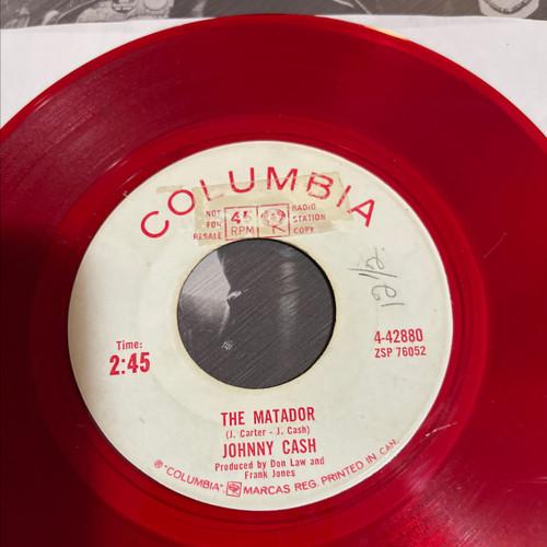 Johnny Cash - The Matador (1963 Promo on Red Vinyl)