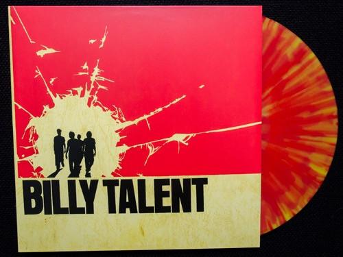 Billy Talent - Billy Talent ( 2013 only 300 - Splatter Vinyl)