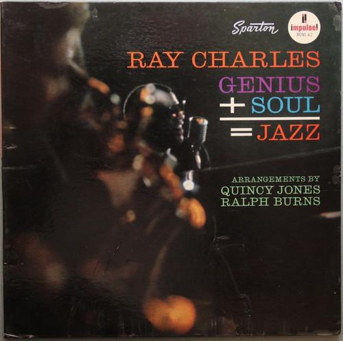 Ray Charles - Genius + Soul = Jazz ( 1st press mono)