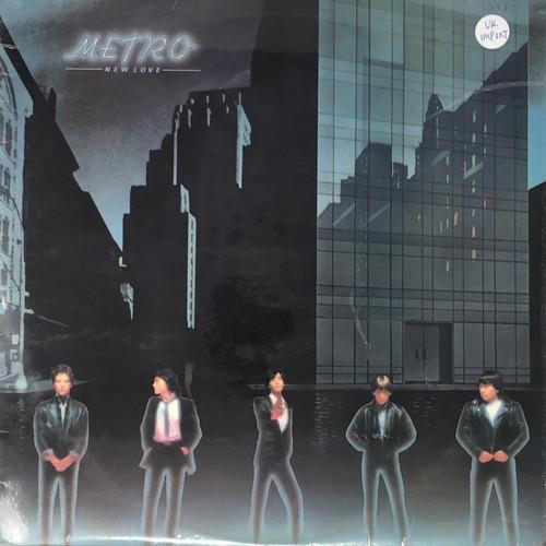 Metro - New Love (UK Pressing)