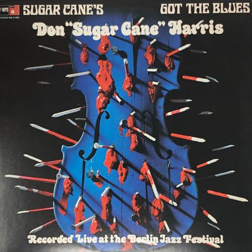 """Don """"Sugar Cane"""" Harris - Sugar Cane's Got The Blues (US NM MPS)"""