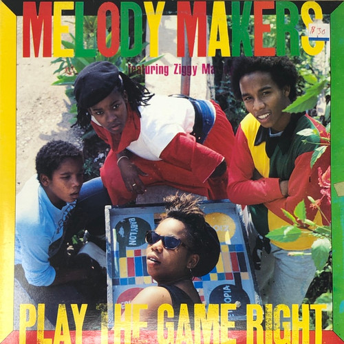 Melody Makers ft Ziggy Marley - Play The Game Right (Jamaïcain Pressing)