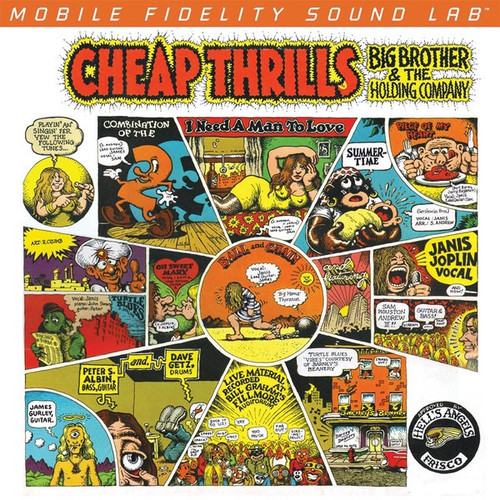Big Brother & The Holding Company - Cheap Thrills ( Limited Edition Low Number 000489)
