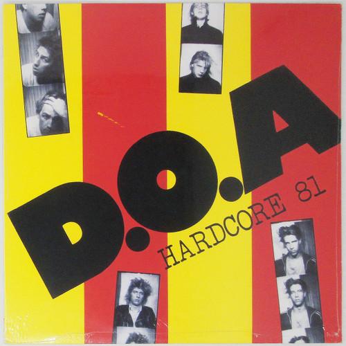 D.O.A – Hardcore 81 (sealed)
