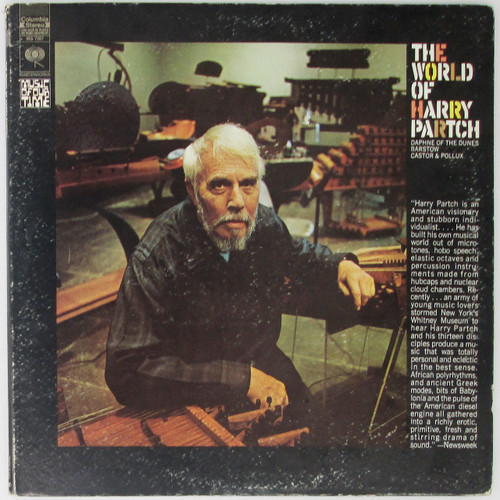 Harry Partch ‎– The World Of Harry Partch