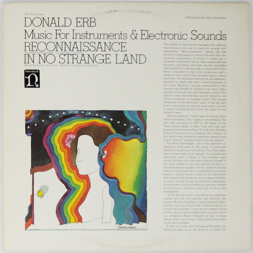 Donald Erb ‎– Music For Instruments & Electronic Sounds