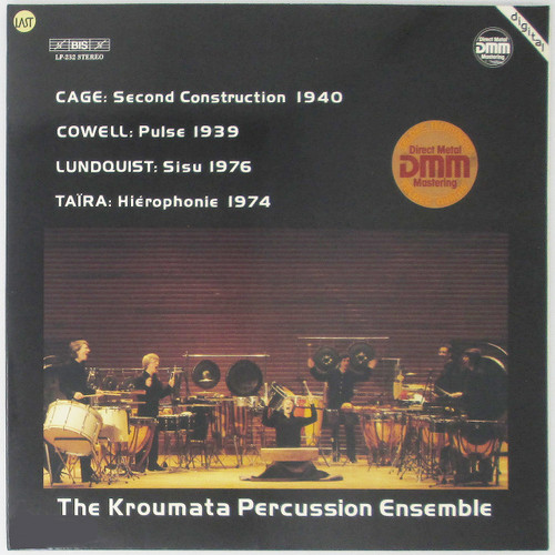 The Kroumata Percussion Ensemble, Cage / Cowell / Lundquist / Taïra – Plays Cage, Cowell, Lundquist & Taïra