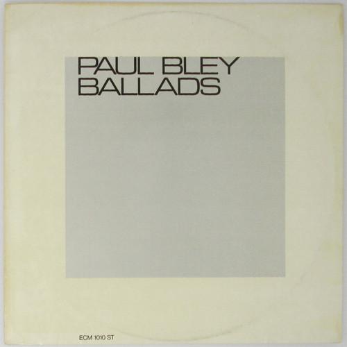Paul Bley - Ballads