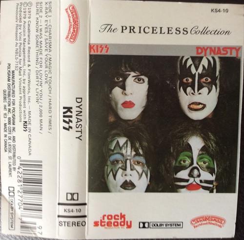 Kiss - Dynasty ( Cassette VG+)